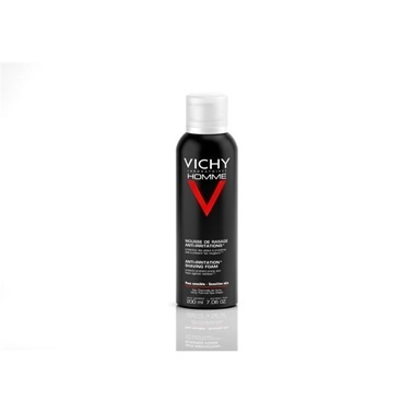 Vichy VICHY Homme Anti-Irritation Shaving Mousse 200 ml - Tahriş Karşıtı Traş Köpüğü Renksiz